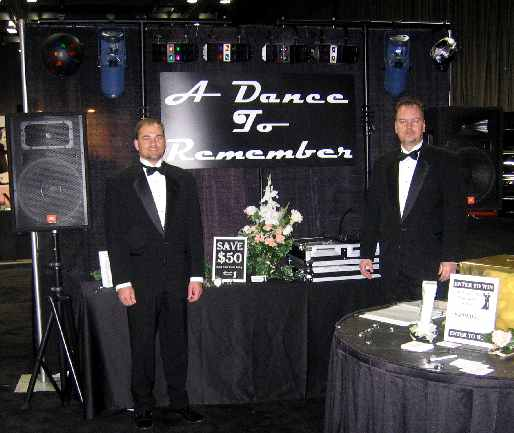 A Dance To Remember Owners Jason Rice (L) and Chris Hunt (R)