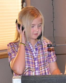 """Guest DJ Paige"" helping out at her Dad's 40th Birthday Party"